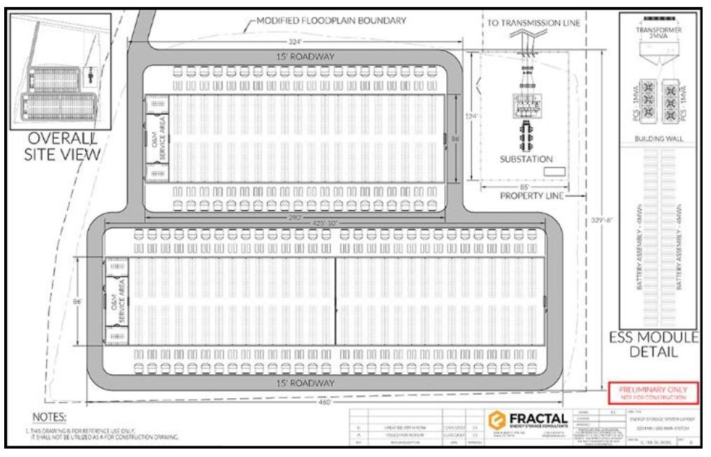 energy storage engineering drawings